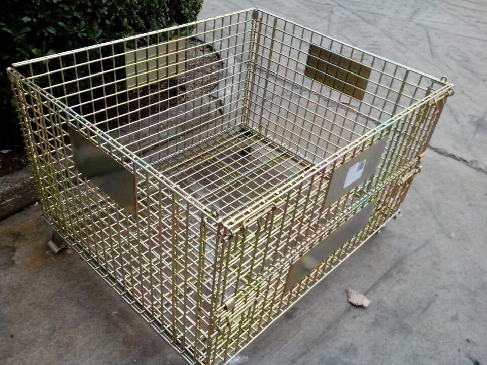 正确选购和使用金属仓储笼